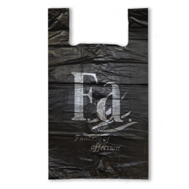 Пакет майка ПНД (Черная) 30+16*54 см