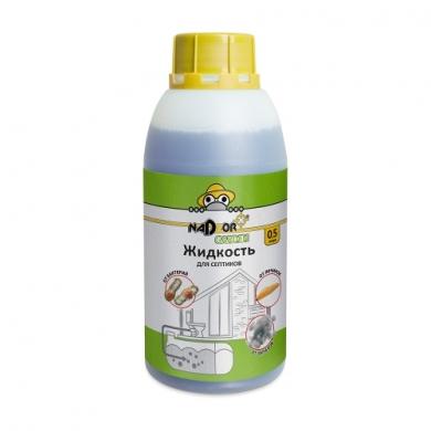 Жидкий концентрат для септиков, 0.5 л, Nadzor Garden