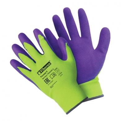 """Перчатки «Супер комфортные"""" полиэстеровые, покрытие Sandy Latex, Fiberon, 9 (L)"""