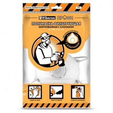 Респиратор пылезащитный с клапаном, FFP1, Fiberon ПРОФИ