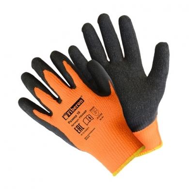 """Перчатки """"Утеплённые"""" акриловые, покрытие вспененный латекс, Fiberon, 10(XL)"""