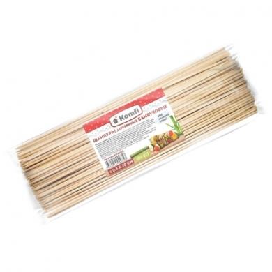 Шампура бамбуковые,100 шт/уп., Komfi