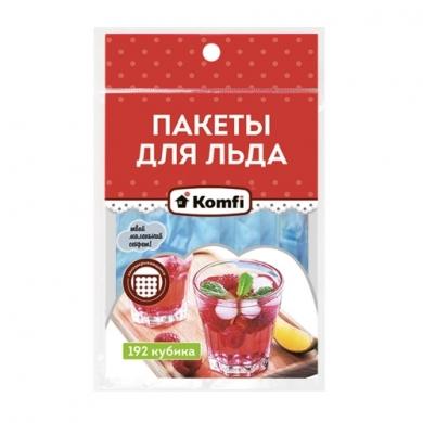 Пакет для льда шарики  Komfi 224 ячейки